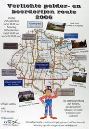 Verlichte polder- en boerderijen route.