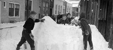 Ouderwetse winter in Zeeland