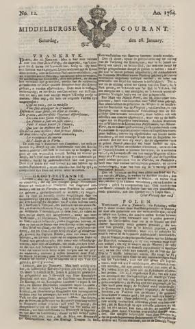 Middelburgsche Courant 1764-01-28
