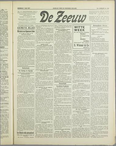 De Zeeuw. Christelijk-historisch nieuwsblad voor Zeeland 1937-07-07