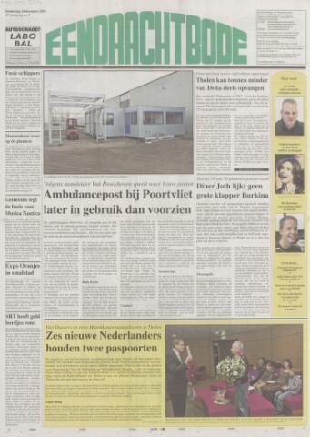 Eendrachtbode (1945-heden)/Mededeelingenblad voor het eiland Tholen (1944/45) 2010-12-16
