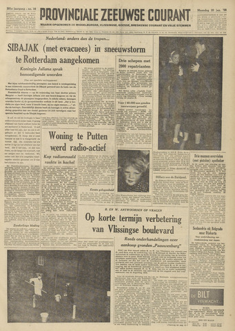Provinciale Zeeuwse Courant 1958-01-20