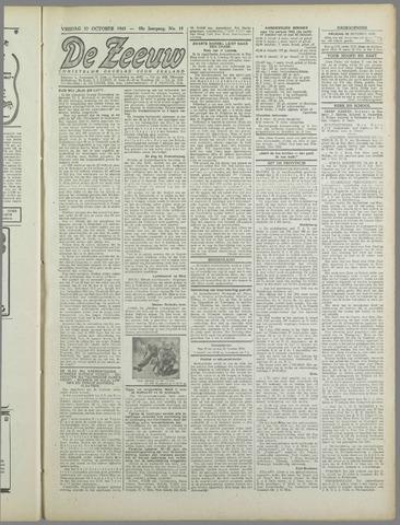 De Zeeuw. Christelijk-historisch nieuwsblad voor Zeeland 1943-10-22