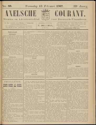 Axelsche Courant 1907-02-13