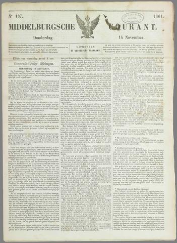 Middelburgsche Courant 1861-11-14