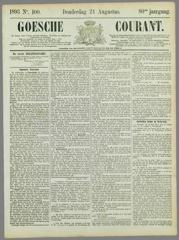 Goessche Courant 1893-08-24