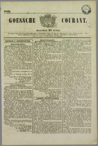 Goessche Courant 1851-06-23