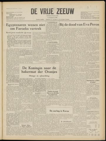 de Vrije Zeeuw 1952-07-29