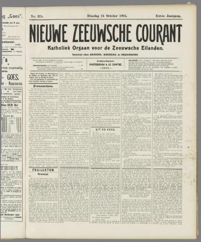Nieuwe Zeeuwsche Courant 1905-10-24