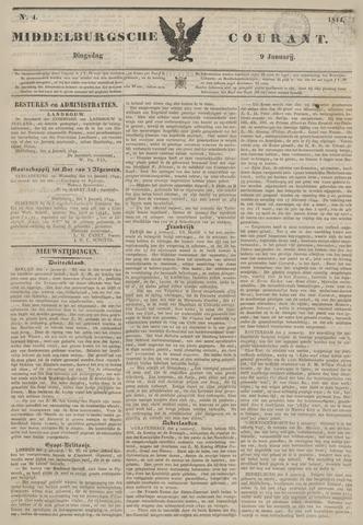 Middelburgsche Courant 1844-01-09