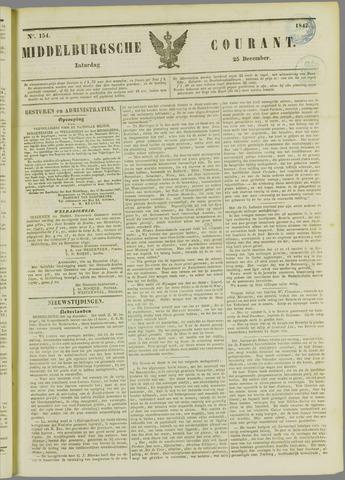 Middelburgsche Courant 1847-12-25