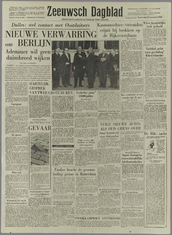 Zeeuwsch Dagblad 1958-11-27