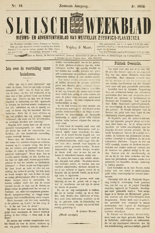 Sluisch Weekblad. Nieuws- en advertentieblad voor Westelijk Zeeuwsch-Vlaanderen 1875-03-05