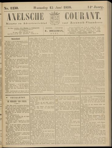 Axelsche Courant 1898-06-15
