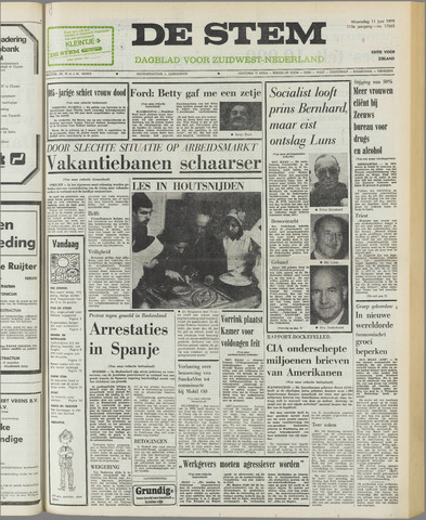 de Stem 1975-06-11