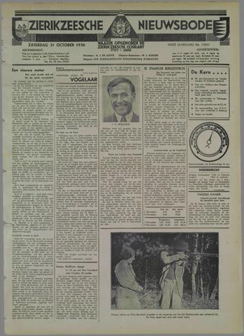 Zierikzeesche Nieuwsbode 1936-10-31