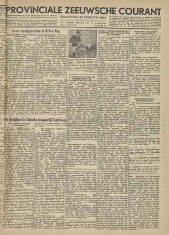 Provinciale Zeeuwse Courant 1944-02-23