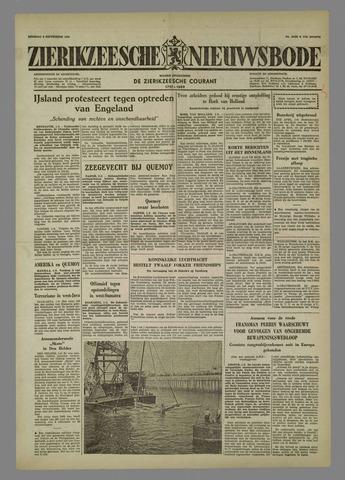 Zierikzeesche Nieuwsbode 1958-09-02