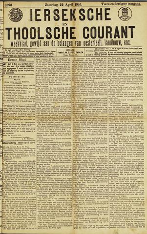 Ierseksche en Thoolsche Courant 1916-04-22