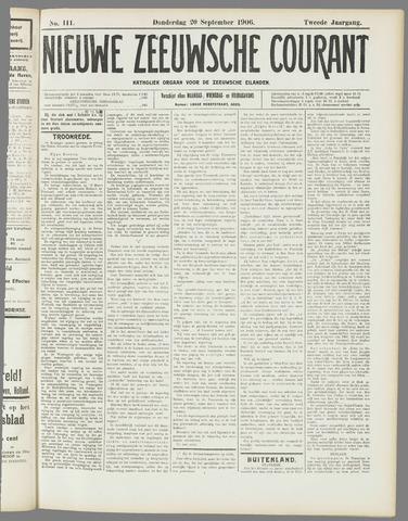 Nieuwe Zeeuwsche Courant 1906-09-20