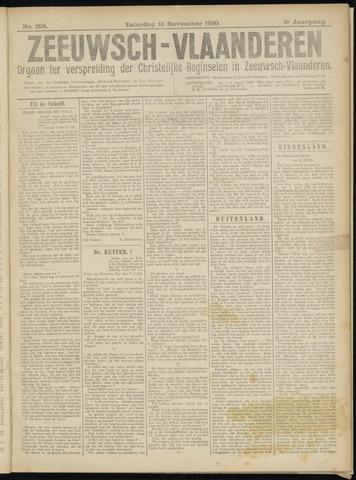 Luctor et Emergo. Antirevolutionair nieuws- en advertentieblad voor Zeeland / Zeeuwsch-Vlaanderen. Orgaan ter verspreiding van de christelijke beginselen in Zeeuwsch-Vlaanderen 1920-11-13