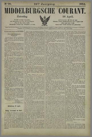 Middelburgsche Courant 1884-04-26