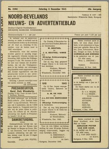 Noord-Bevelands Nieuws- en advertentieblad 1945-12-08