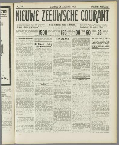 Nieuwe Zeeuwsche Courant 1916-08-26
