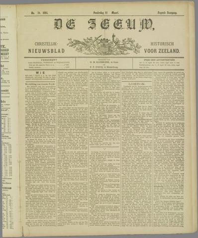 De Zeeuw. Christelijk-historisch nieuwsblad voor Zeeland 1895-03-14