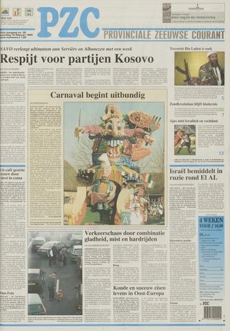 Provinciale Zeeuwse Courant 1999-02-15