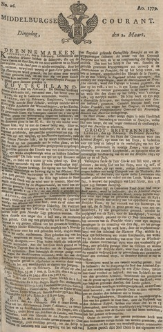 Middelburgsche Courant 1779-03-02