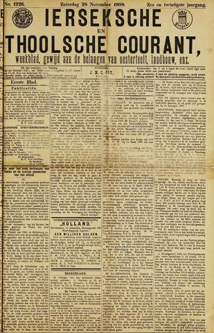 Ierseksche en Thoolsche Courant 1908-11-28