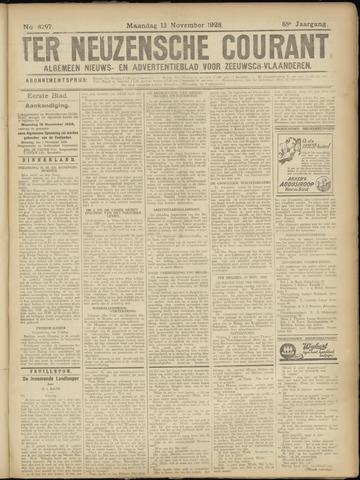 Ter Neuzensche Courant. Algemeen Nieuws- en Advertentieblad voor Zeeuwsch-Vlaanderen / Neuzensche Courant ... (idem) / (Algemeen) nieuws en advertentieblad voor Zeeuwsch-Vlaanderen 1928-11-12