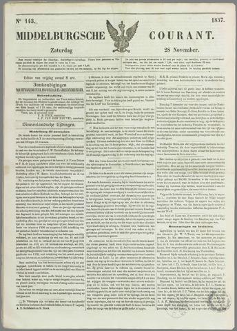 Middelburgsche Courant 1857-11-28