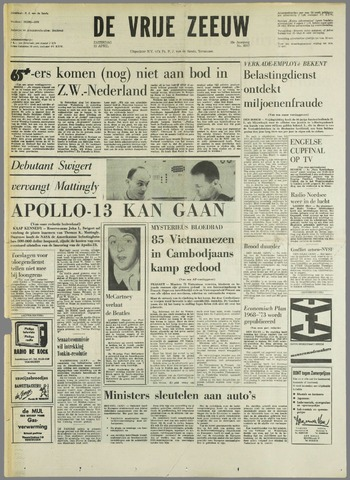 de Vrije Zeeuw 1970-04-11