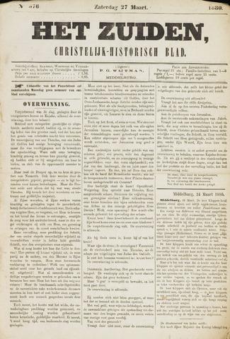 Het Zuiden, Christelijk-historisch blad 1880-03-27