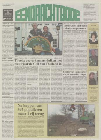 Eendrachtbode (1945-heden)/Mededeelingenblad voor het eiland Tholen (1944/45) 2003-01-16