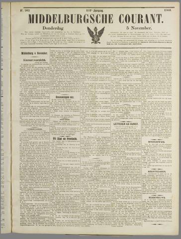 Middelburgsche Courant 1908-11-05