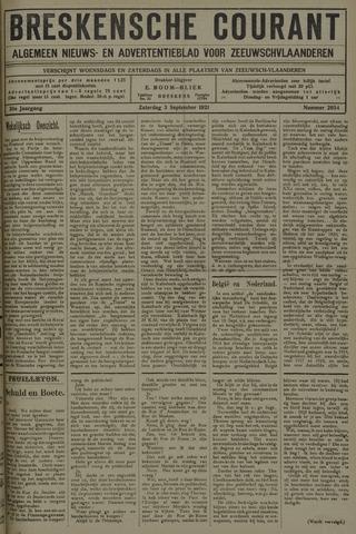 Breskensche Courant 1921-09-03