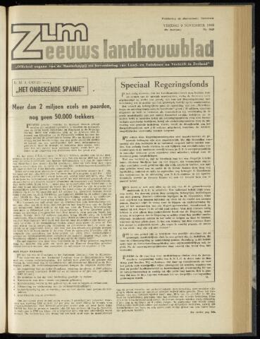 Zeeuwsch landbouwblad ... ZLM land- en tuinbouwblad 1962-11-09