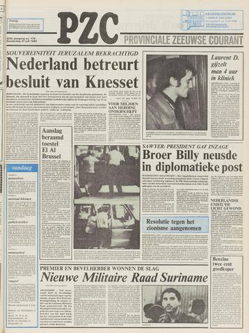 Provinciale Zeeuwse Courant 1980-07-31