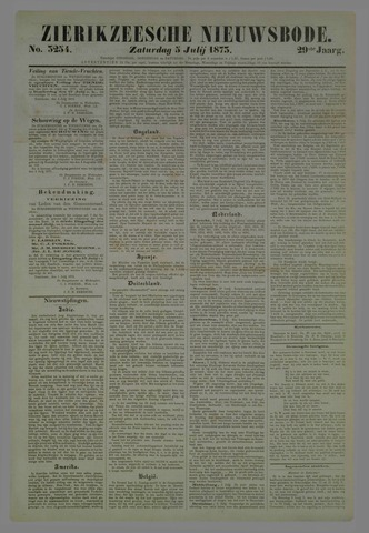 Zierikzeesche Nieuwsbode 1873-07-05