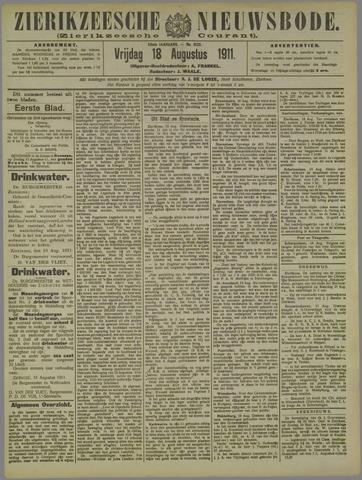 Zierikzeesche Nieuwsbode 1911-08-18