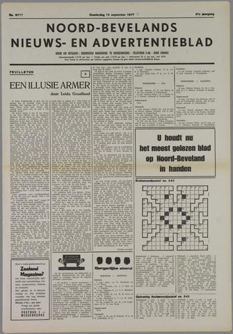 Noord-Bevelands Nieuws- en advertentieblad 1977-09-15