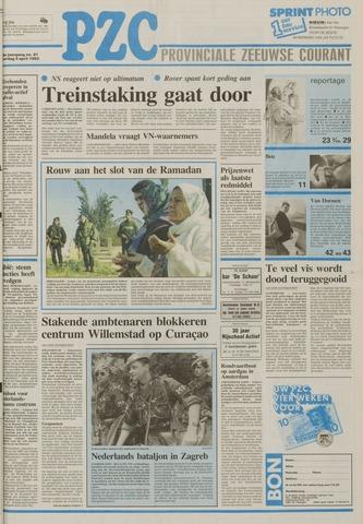 Provinciale Zeeuwse Courant 1992-04-04