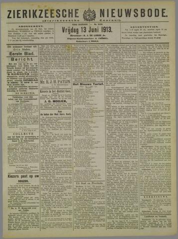 Zierikzeesche Nieuwsbode 1913-06-13