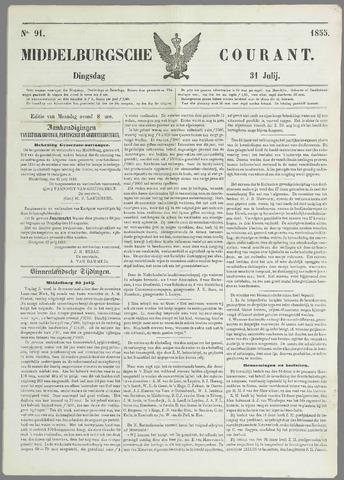 Middelburgsche Courant 1855-07-31