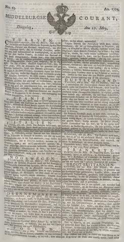 Middelburgsche Courant 1777-05-27