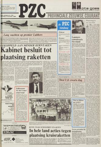 Provinciale Zeeuwse Courant 1985-11-02