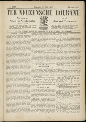 Ter Neuzensche Courant. Algemeen Nieuws- en Advertentieblad voor Zeeuwsch-Vlaanderen / Neuzensche Courant ... (idem) / (Algemeen) nieuws en advertentieblad voor Zeeuwsch-Vlaanderen 1879-05-28